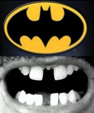 batman e denti